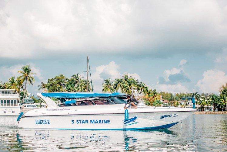 Lucus 2 – VIP Private Speedboat