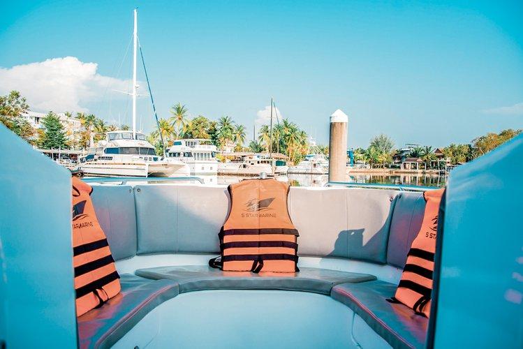 Motor yacht boat rental in Boat Lagoon Phuket, Thailand