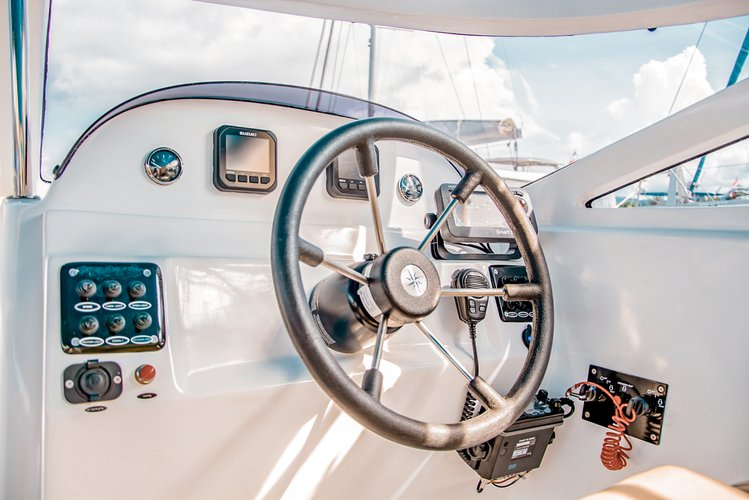 Up to 35 persons can enjoy a ride on this Motor yacht boat