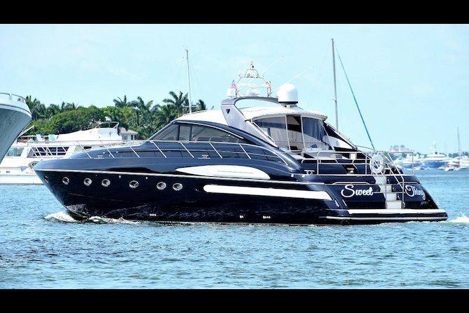 Discover Miami Beach surroundings on this Princess Viking boat