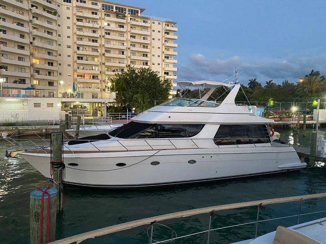 57' Voyager – Miami Yacht Rental