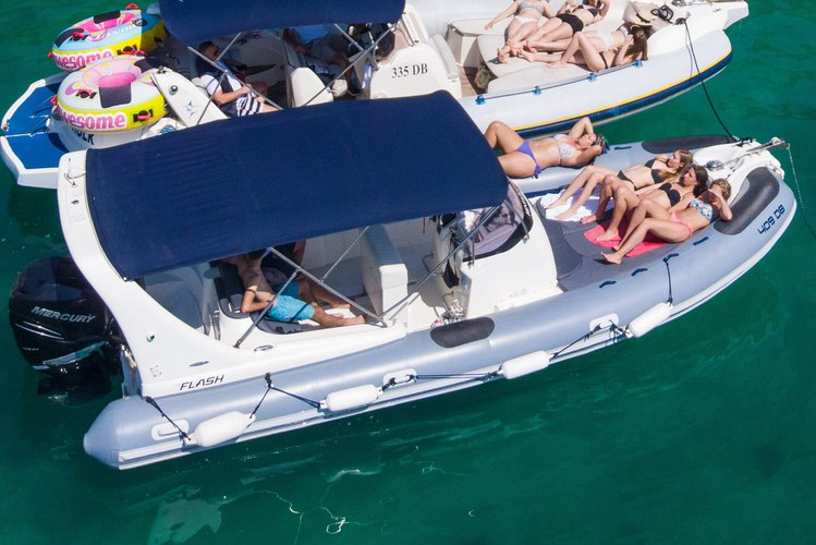Boating is fun with a Inflatable outboard in DUBROVNIK