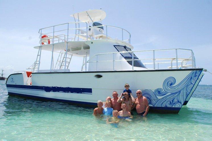 Breakers Private Catamaran Adventure - Sail Punta Cana in your own Boat