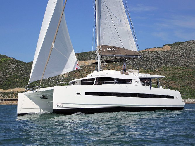 Explore Nice on this beautiful sailboat for rent