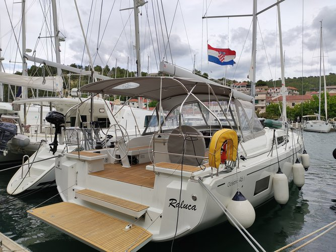 Discover Skradin in style boating on this sailboat rental