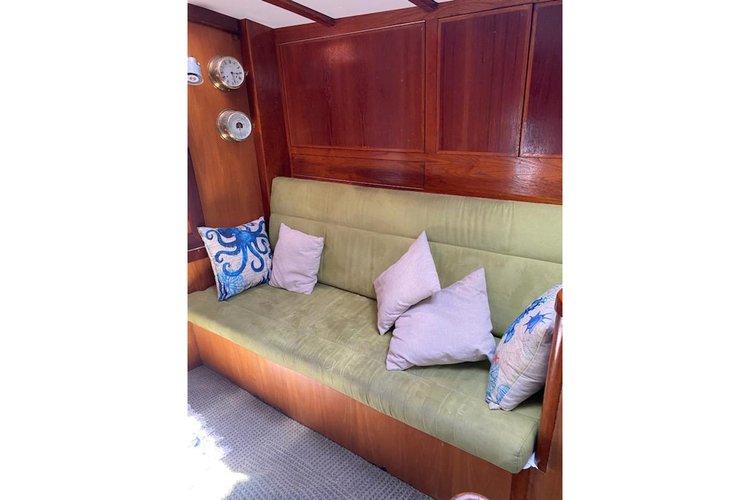Discover Long Beach surroundings on this Staysail Schooner Custom boat