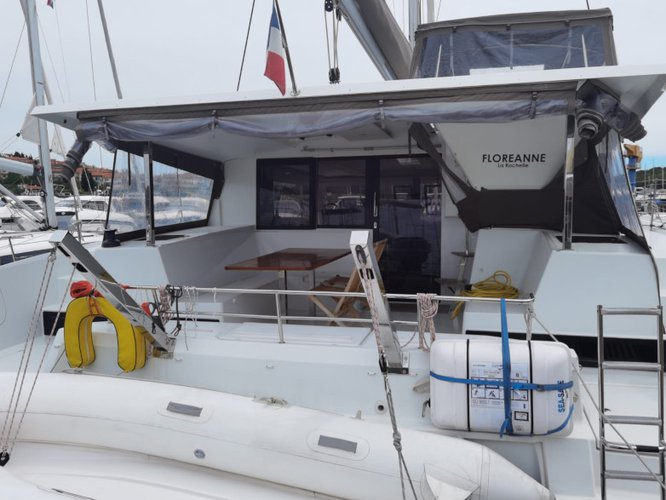 Experience Pula, HR on board this amazing Fountaine Pajot Lucia 40