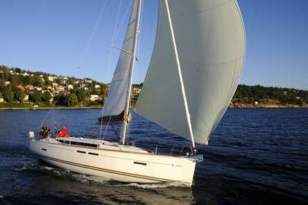 Up to 6 persons can enjoy a ride on this Sloop boat
