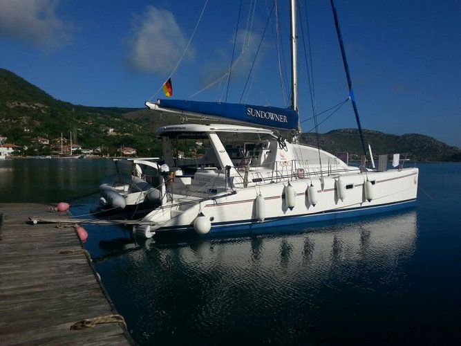 Enjoy Marmaris, TR to the fullest on our comfortable Leopard Catamarans Leopard 4300