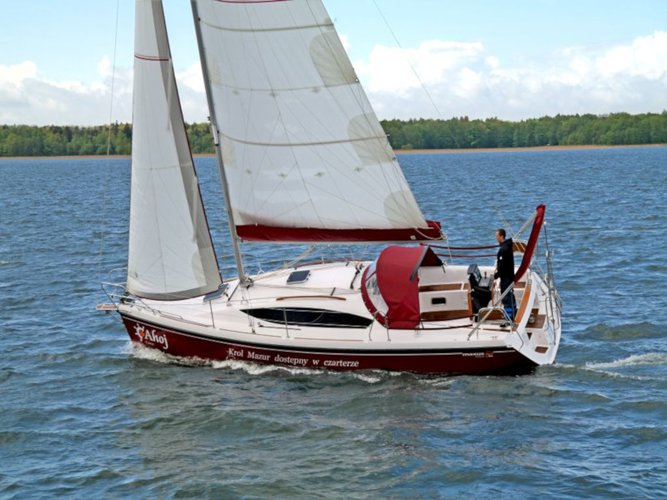 Charter this amazing sailboat in Wilkasy