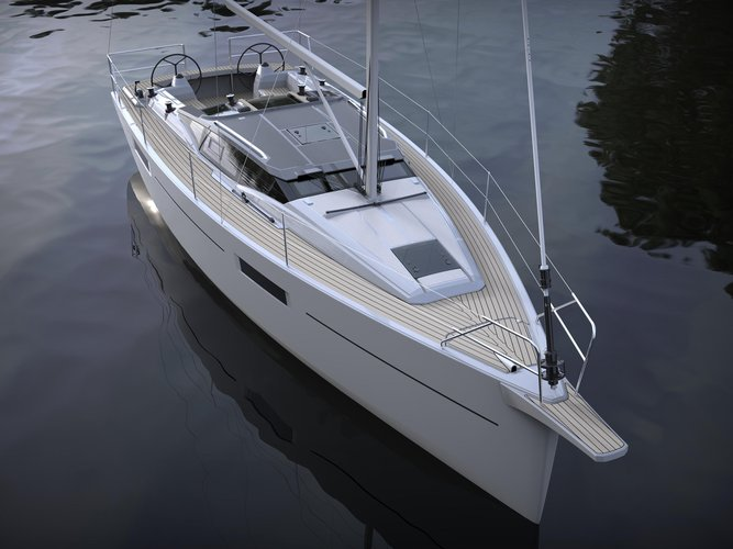 Enjoy luxury and comfort on this Węgorzewo sailboat charter