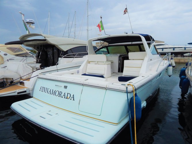 Get on the water and enjoy Villasimius in style on our  Tiara 3800 Open