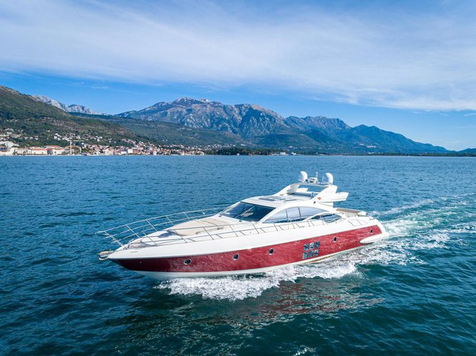 62' $2M Italian Luxury Yacht with Captain Party up