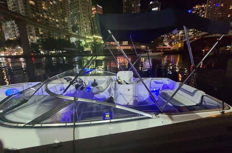 Boating is fun with a Chris Craft in miami beach