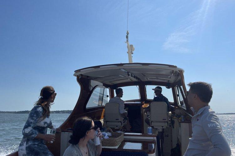 Hinckley's 36.0 feet in Sag Harbor