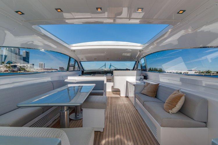 76′ Leopard – Miami Yacht Rental