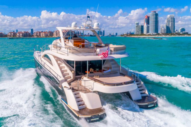 Rent a Luxury Yachting Experience! 62' PowerCat