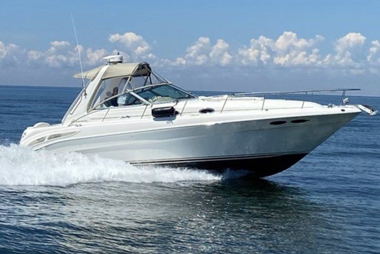 Explore Eastern Long Island on a Beautiful 340 SeaRay.