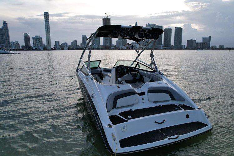 Boat for rent YAMAHA 21.0 feet in La Coloma Marina, FL