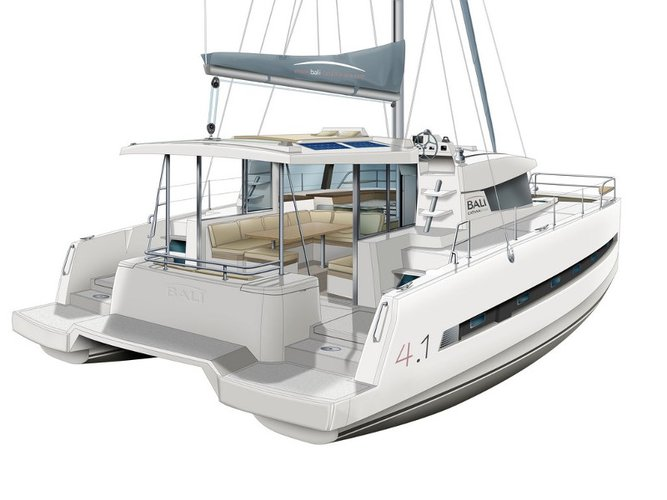 All you need to do is relax and have fun aboard the Bali Catamarans Bali 4.1_pax