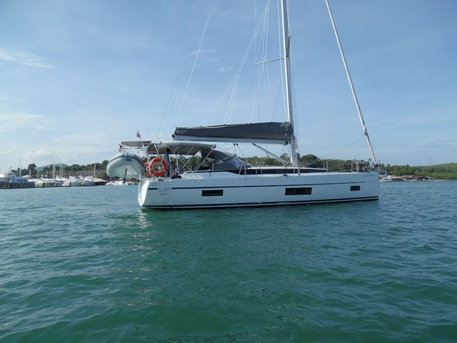 All you need to do is relax and have fun aboard the Bavaria Yachtbau Bavaria - C45
