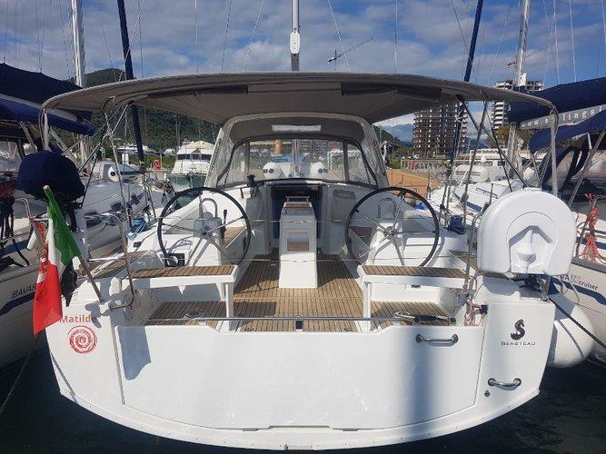 Enjoy Scarlino - Puntone, IT to the fullest on our comfortable Beneteau Oceanis 38.1