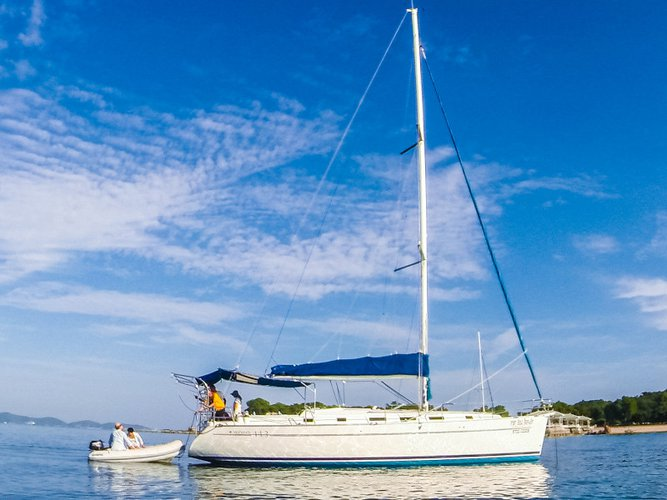 Rent this Beneteau Cyclades 44.3 for a true nautical adventure