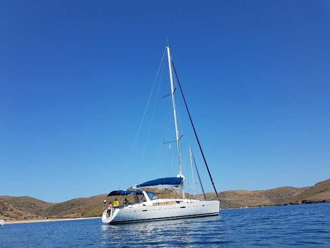 Unique experience on this beautiful Beneteau Oceanis 50