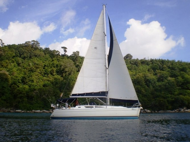 Charter this amazing Jeanneau Sun Odyssey 40 in Phuket, TH