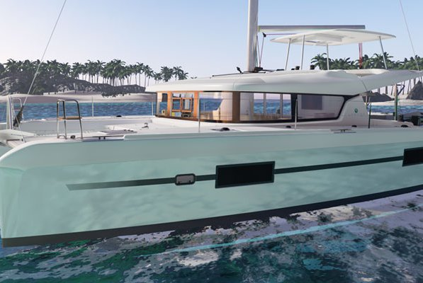 Charter beautiful Lagoon 42 to explore the water