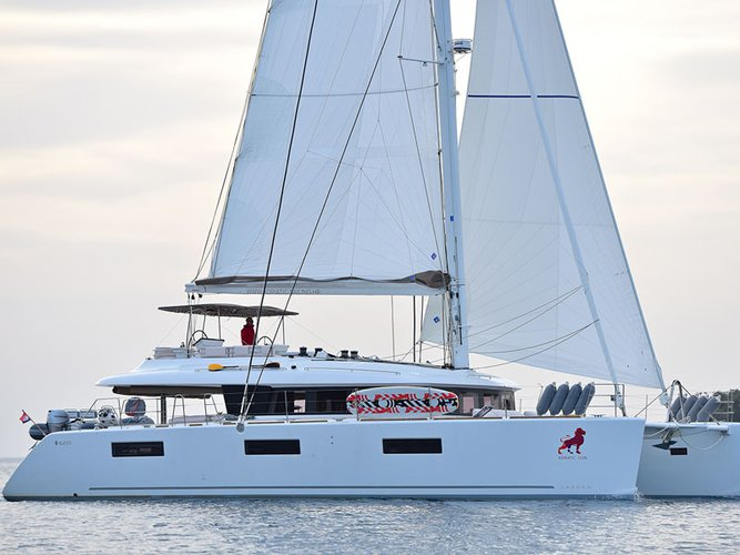 Experience Kaštel Gomilica on board this elegant sailboat