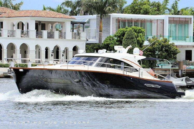 Motor yacht boat for rent in Hallandale