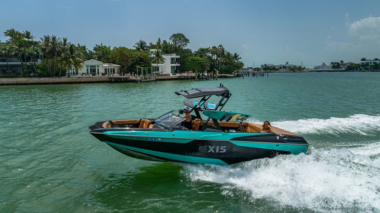 Axis A24 wakesurf and wakeboard Charter with captain