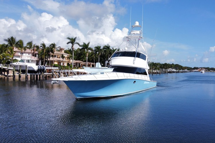"74' Viking Luxury Sportfish Enclosed Bridge in Palm Beach, Florida ""Our Way"""