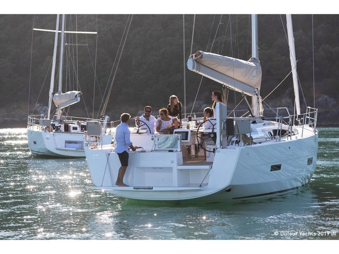 Climb aboard this Dufour Yachts Dufour 430 for an unforgettable experience