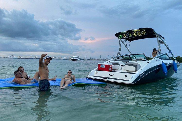 Jet boat boat rental in La Coloma Marina, FL