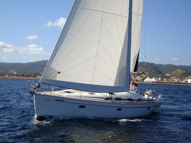 Sail Rhodes, GR waters on a beautiful Bavaria Yachtbau Bavaria 47 Cruiser