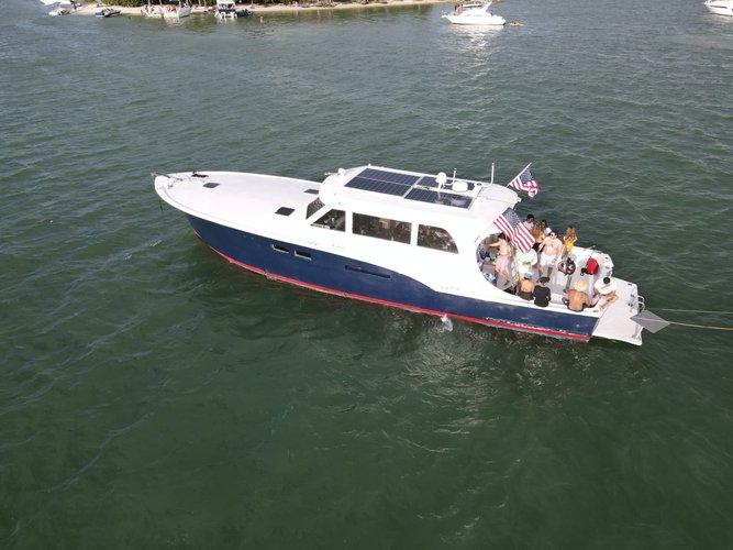 Boat for rent Hattera Yacht 58.0 feet in MBM - Miami Beach Marina,
