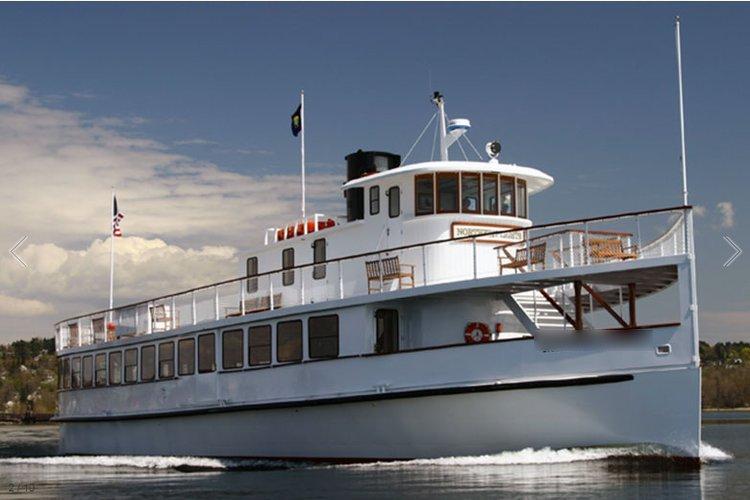 Eat, drink, sail & enjoy in Boston onboard this lavish yacht