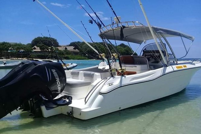 Enjoy waters of Mauritius with captain Francois